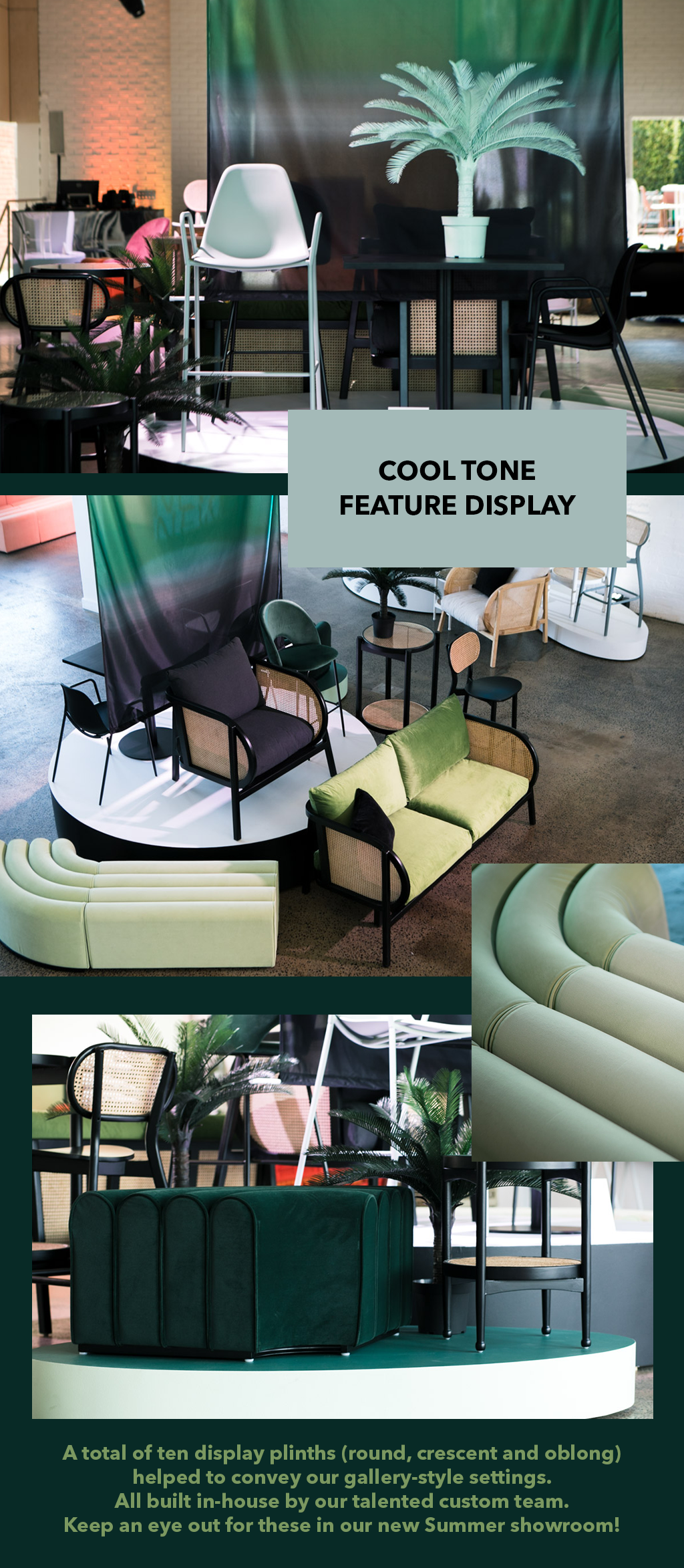 DEH NEW COLLECTION LAUNCH_COOL TONE FEATURE DISPLAY